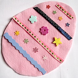 Easter Egg Busy Bag - Crafty Journal