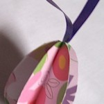Paper Egg Ornament