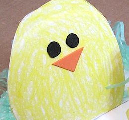 Crafty Journal - Paper Plate Pop Up Chick