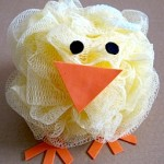 Bath Pouf Chick