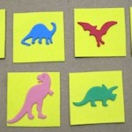 Dinosaur Matching Game for Toddler