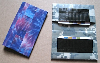 Duct Tape Business Card Case