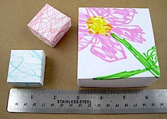 kids origami box