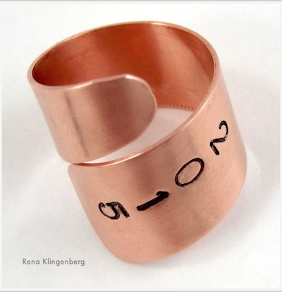 Adjustable Class Ring by Rena Klingenberg