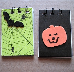 Crafty Journal - Haunting Halloween Notepads