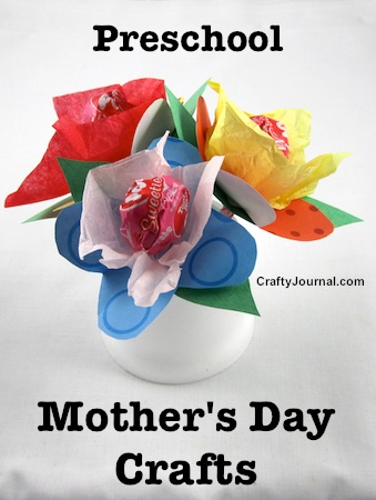 Preschool Mother's Day Crafts by Crafty Journal