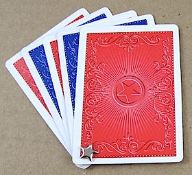 Patriotic Fan from a Deck of Cards - Crafty Journal