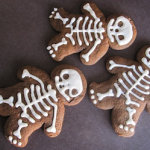 Gingerbread Man Skeleton Cookies