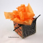Halloween Treat Box by Crafty Journal