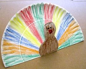 paper pate pop up turkey