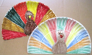 It only requires one paper plate ... & Paper Plate Pop Up Turkey