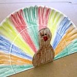 Paper Plate Pop Up Turkey - by Crafty Journal