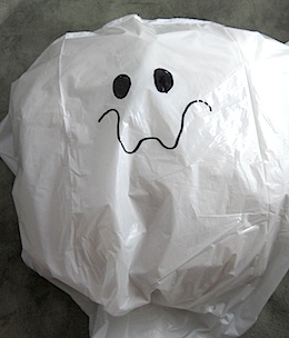 Trash Bag Ghost