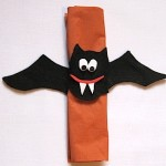 Vampire Bat Napkin Ring