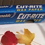 Wax Paper Is Ideal for Crafting