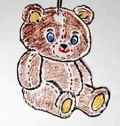 Mini Shrinky Ornaments by Crafty Journal