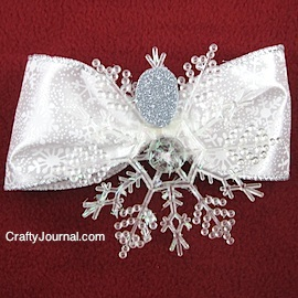 Snowflake Angel by Crafty Journal