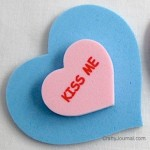 Conversation Heart Magnet