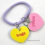 Stretchy Valentine Heart Bracelet
