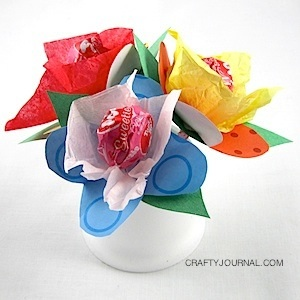 Lollipop Bouquet - Crafty Journal