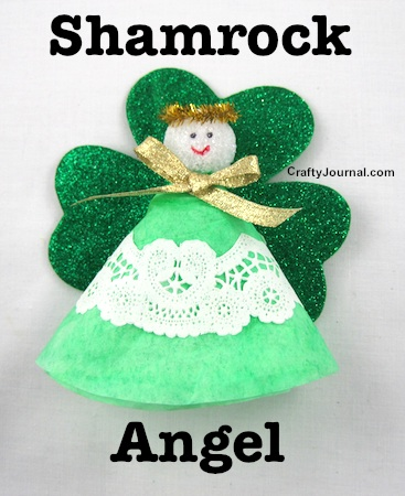 Shamrock Angel by Crafty Journal