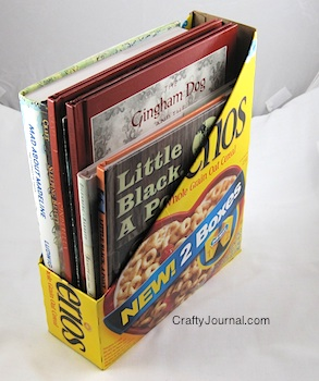 Cereal box magazine holder cereal box magazine holder20w ccuart Images