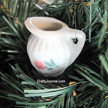 Crafty Journal - Tea Set Ornaments
