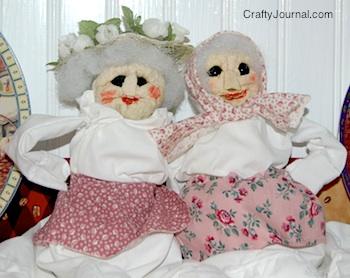 Crafty Journal - Hilda and Granny Smith