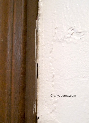 Crafty Journal - Easy Way to Hide Paint Drips