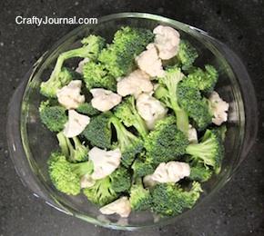 Crafty Journal - Broccoli and Cauliflower Quiche Recipe (gluten free)