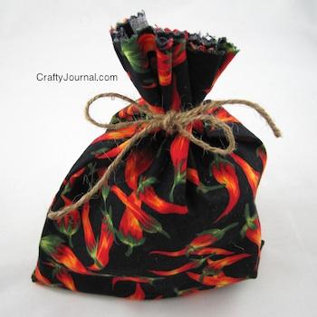 Easy Reusable Fabric Gift Bag