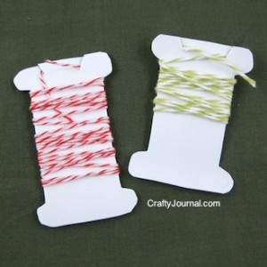 Crafty Journal - Milk Jug Bakers Twine Bobbin