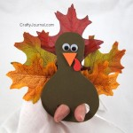 Crafty Journal - Turkey Finger Puppet