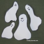 Milk Jug Ghost Garland