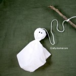 Crafty Journal - Ghost on a Stick