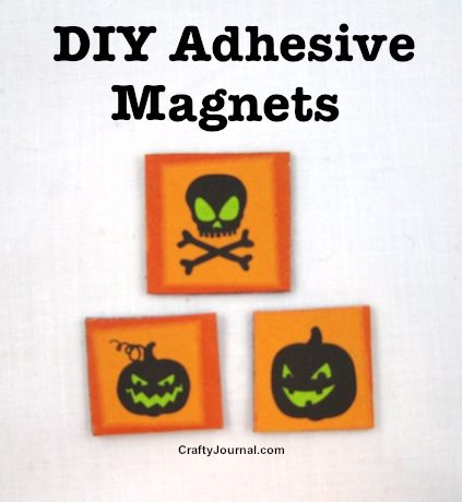 DIY Adhesive Magnets by Crafty Journal
