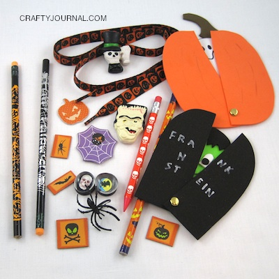 Crafty Journal - Non-Candy Halloween Treats