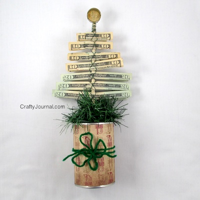http://craftyjournal.com/christmas-money-tree/