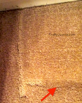Remove Furniture Dents from Carpet by Crafty Journal