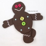 Poseable Gingerbread Man