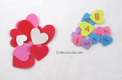 Valentine Heart Stickers
