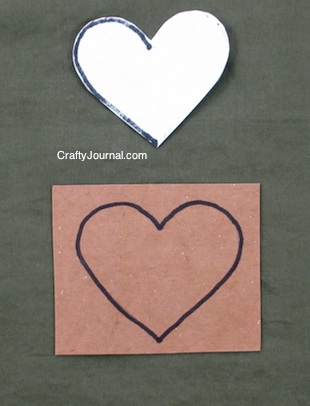 How to Make a Heart Pattern - Crafty Journal