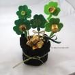 Pot of Gold Shamrock Bouquet - Crafty Journal