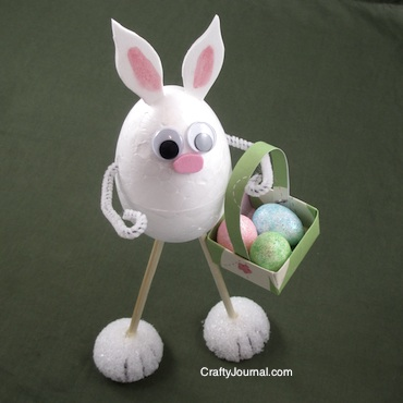 Bunny Long Legs - Crafty Journal