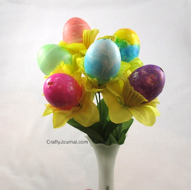 Easter Egg Bouquet - Crafty Journal