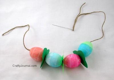 Easter Egg Necklace - Crafty Journal