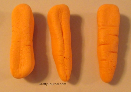 Candy Carrots - Crafty Journal