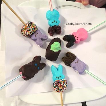 Peep Pops -Crafty Journal