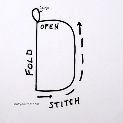 Quick Eyeglasses Holder - Crafty Journal