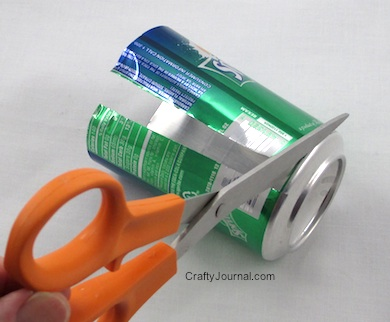 How to Turn a Soda Can into a Flat Sheet of Aluminum - Crafty Journal